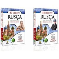 80 Derste Rusça - Temel Seviyede Rusça Öğrenim Kitabı