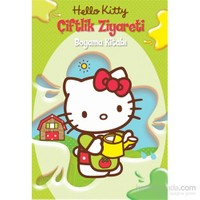 Hello Kitty Çiftlik Ziyareti (Boyama Kitabı)-Kolektif