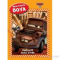 Disney Noktalarla Boya Arabalar Faaliyetli Öykü Kitabı-Kolektif