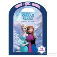 Disney Oku Çiz Boya Karlar Ülkesi Faaliyetli Öykü Kitabı-Kolektif