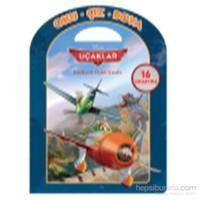 Disney Oku Çiz Boya Uçaklar Faaliyetli Öykü Kitabı-Kolektif