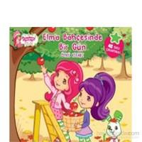 Çilek Kız - Elma Bahçesinde Bir Gün (Öykü Kitabı)-Kolektif