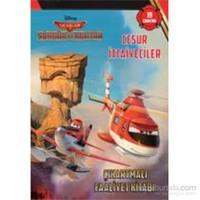 Disney Uçaklar 2 Cesur İtfaiyeciler Çıkartmalı Faaliyet Kitabı-Kolektif