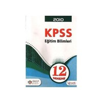 Ekip KPSS Eğitim Bilimleri 12 Deneme