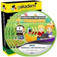 Görüntülü Akademi İlköğretim 2. Sınıf Matematik Görüntülü Eğitim Seti (5 Dvd)