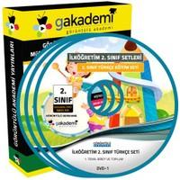 Görüntülü Akademi 2. Sınıf Türkçe Görüntülü Eğitim Seti (8 Dvd)