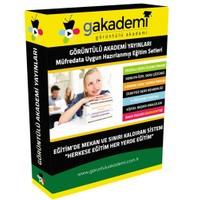 Görüntülü Akademi İlköğretim 2. Sınıf Tüm Dersler Görüntülü Eğitim Seti (17 Dvd)