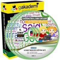 Görüntülü Akademi İlköğretim 6. Sınıf İngilizce Görüntülü Eğitim Seti (7 Dvd)