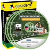 Görüntülü Akademi 9. Sınıf Matematik Görüntülü Eğitim Seti 1(3 Dvd)