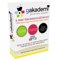 Görüntülü Akademi Lise 9. Sınıf Tüm Dersler Görüntülü Eğitim Seti 72 Dvd