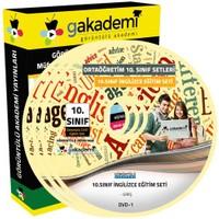 Görüntülü Akademi 10. Sınıf İngilizce Görüntülü Eğitim Seti (11 Dvd)