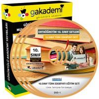 Görüntülü Akademi 10. Sınıf Türk Edebiyatı Görüntülü Eğitim Seti (5 Dvd)
