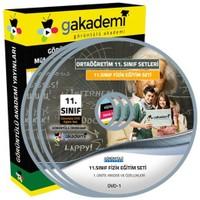 Görüntülü Akademi 11. Sınıf Fizik Görüntülü Eğitim Seti 6 Dvd