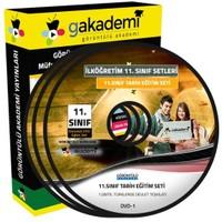 Görüntülü Akademi 11. Sınıf Tarih Görüntülü Eğitim Seti 7 Dvd