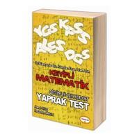 Yediiklim Keyifli Matematik Çözümlü Çek Kopart Yaprak Test