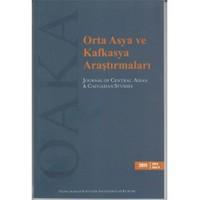Orta Asya Ve Kafkasya Araştırmaları Sayı:11