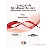 Yükseköğretimde Eğitim Programı Geliştirme