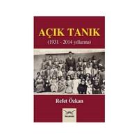 Açık Tanık 1931-2014 Yıllarına