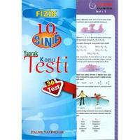 Palme 10. Sınıf Fizik Yaprak Test