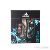 Adidas Ice Dive Edt 100Ml Erkek Parfüm + Duş Jeli 250 Ml Set