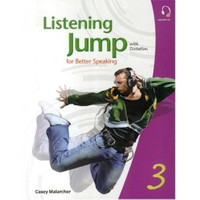 Listening Jump for Beter Speaking 3 with Dictation +MP3 CD - Casey Malarcher