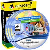 Görüntülü Akademi Kpss Coğrafya Görüntülü Eğitim Seti 17 Dvd