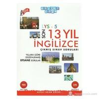 Akıllı Adam LYS-5 Son 13 Yıl İngilizce Çıkmış Sınav Soruları
