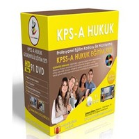 KPSS A Hukuk Görüntülü Eğitim Seti 91 DVD + Rehberlik Kitabı
