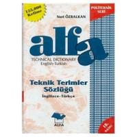 Teknik Terimler Sözlüğü Türkçe İngilizce - Nuri Özbalkan