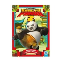 Kung Fu Panda Çıkartma Ve Aktivite Kitabı-Kolektif