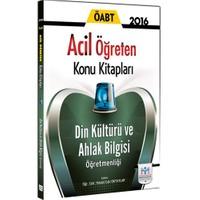Müfredat Yayınları Öabt 2016 Din Kültürü Ve Ahlak Bilgisi Acil Öğreten Konu Kitabı