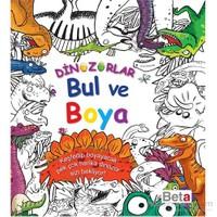 Bul Ve Boya Dinozorlar
