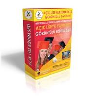 Açıklise Matematik 2 Görüntülü Eğitim Seti 6 DVD + Rehberlik Kitabı Hediye