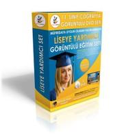 Lise 11. Sınıf Coğrafya Görüntülü Eğitim Seti 3 DVD+ Rehberlik Kitabı