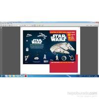 Disney Starwars: Çıkartmalı Ve Tişört Baskılı Faaliyet Kitabı-Kolektif