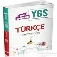 Hızlı Öğretim YGS Türkçe Konu Anlatımlı