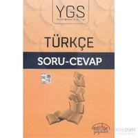 Editör Ygs Türçe Soru-Cevap-Kolektif