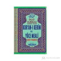 Üçlü Elmalılı Hamdi Yazır Kur'an-I Kerim Ve Yüce Meali (Orta Boy)/(Üçlü-003)
