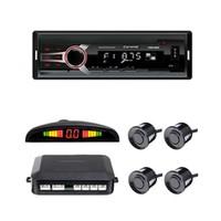 Carway CRW-5000 OTO MP3 Çalar ve Dijital Ekranlı Park Sensörü Seti