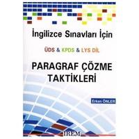 İrem İngilizce Sınavları İçin Üds-Kpds-Lys Dil Paragraf Çözme Taktikleri
