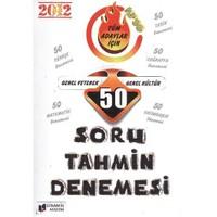 Dinamik KPSS Genel Yetenek Genel Kültür 50 Soru Tahmin Denemesi 2012