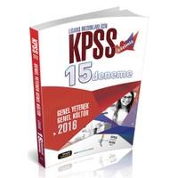 Beyaz Kalem Kpss 2016 Çözümlü 15'Deneme Sınavı