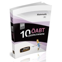 Beyaz Kalem Yayınları Öabt 2016 Lise Matematik Öğretmenliği Çözümlü 10 Deneme Sınavı