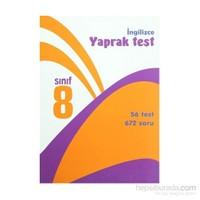 8. Sınıf İngilizce Yaprak Test