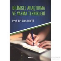 Bilimsel Araştırma Ve Yazma Teknikleri