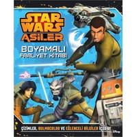 Starwars Asiler Boyamalı Faaliyet Kitabı-Kolektif