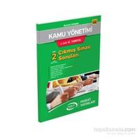Murataçıköğretim 5463 Kamu Yönetimi 3. Sınıf 6. Yarıyıl Çıkmış Sınav Soruları