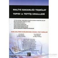 Maliye Bakanlığı Teşkilat Yapısı ve teftiş usulleri