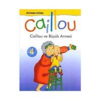 Caillou ve Büyük Annesi Boyama Kitabı 4