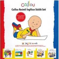 Caillou Resimli İngilizce Sözlük Seti